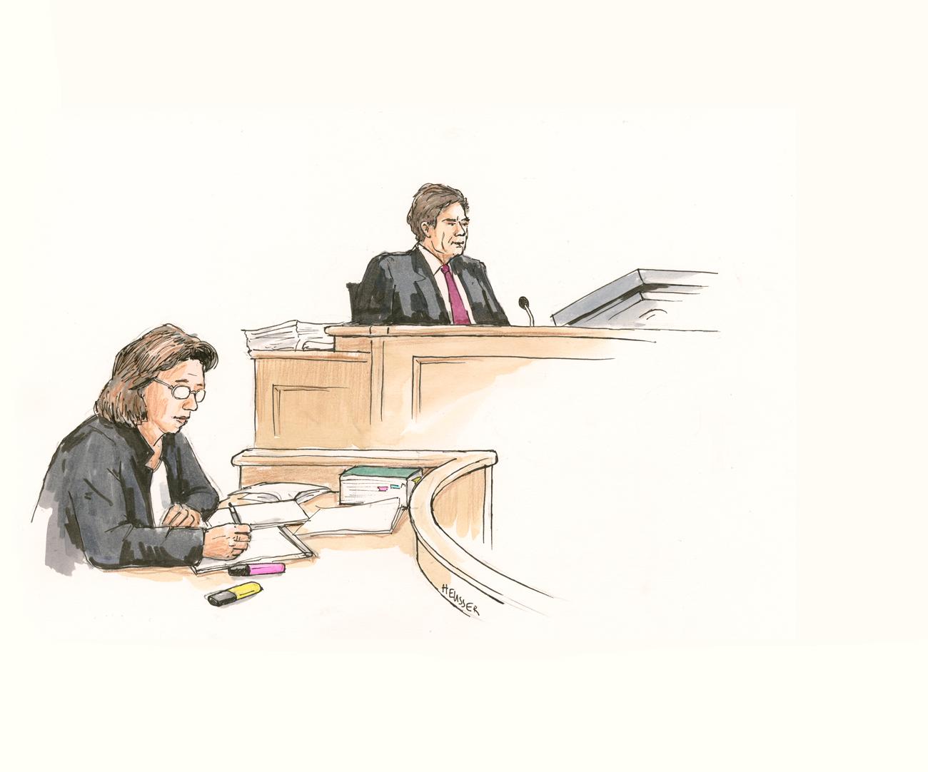 Die Staatsanwältin und der Richter